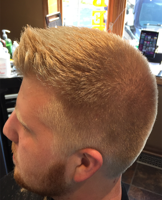 Mitch can cut this style!